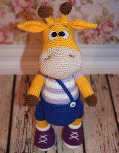 Crochet For Children: Naughty Giraffe - Free Amigurumi Pattern