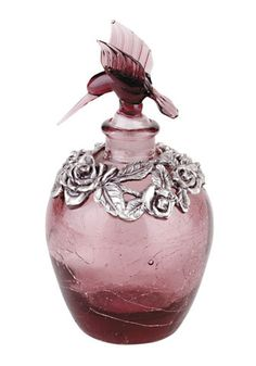 Perfume Bottle-@ I enjoy these beautiful vintage bottles & like to imagine the fragrences that once occupied them ...♥
