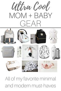 Baby gear that you need, that is budget-friendly and super cool! I'm obsessed with every item here!