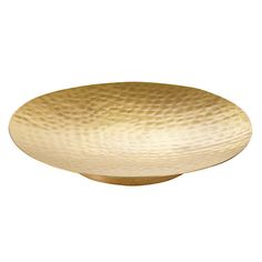 Buy John Lewis Hammered Brass Plate, Small Online at johnlewis.com