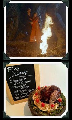 Fire Swamp -- Inconceivable Sundaes: A Princess Bride Ice Cream Party