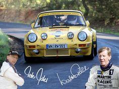 Fahrer Walter Röhrl und Copilot Peter Göbel