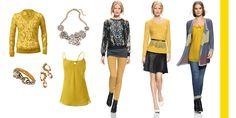 GOLD...go ahead and be bold, rock this FAB color this Fall and you will surely be stopped everywhere you go!