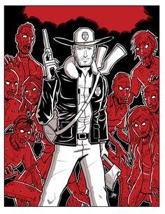 The Walking Dead by calslayton.deviantart.com