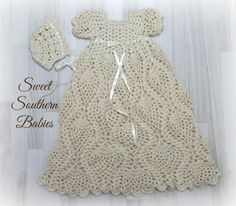 Baby Girls Crochet Baptism / Christening / by SweetSouthernBabies