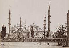 Sultan Ahmet Camii Guillaume Berggren / 1880