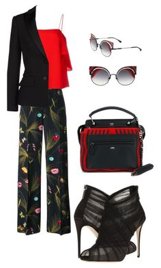 """Sin título #621"" by maricelmartinez on Polyvore featuring moda, Fendi, Dolce&Gabbana y Alexander McQueen"