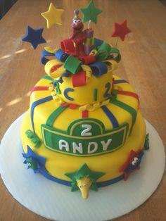 Great boys birthday cake