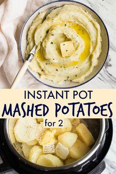 Instant pot mashed p