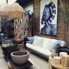 New look Friday our Saltwater courtyard has had a makeover with beautiful new…