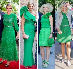 Juffertje in het groen | ModekoninginMaxima.nl