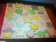 Easy tutorial decorated cookies