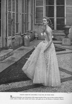 April Vogue 1949 | Flickr - Photo Sharing!