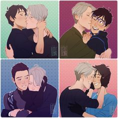 GUESS WHO GOT INTO SKATING HELL HAHAHAH * A set of Victuuri postcards I did together with Lapis-Razuri (check hers out oh my god ;___; lapis-razuri.deviantart.com/ar… ) for EpicCon which we'...