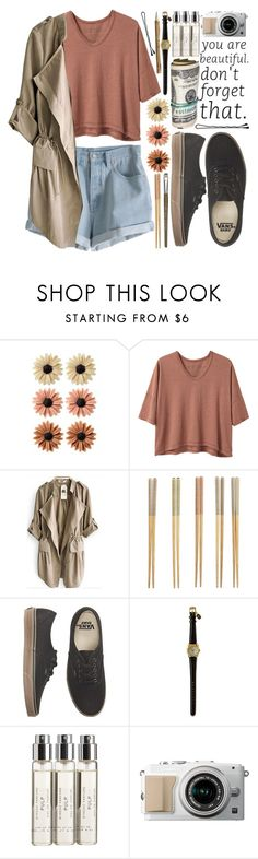 """""""#104 Egress"""" by mia5056 ❤ liked on Polyvore featuring mae, Alexander Yamaguchi, MTWTFSS Weekday, Crate and Barrel, Vans, BOBBY, Byredo and Monza"""