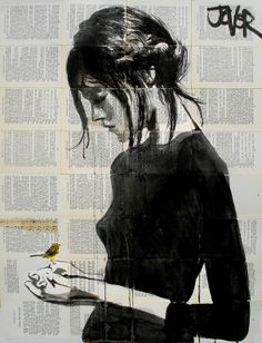 """Saatchi Online Artist: Loui Jover; Pen and Ink, 2013, Drawing """"peace"""""""