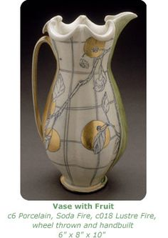 a utilitarian object that is this beautiful begs the question - do you dare use it and can you not? Julia Galloway's work is amazing. Ceramic Pottery, Ceramic Art, Hand Thrown Pottery, Ceramic Pitcher, Chicken Scratch, Art 3d, Contemporary Ceramics, Pottery Ideas, Stoneware