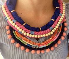Summer is coming! Statement necklace