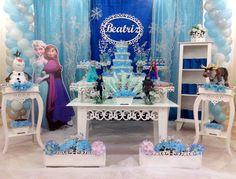 decoracao-festa-provencal-clean-frozen-bolo-frozen