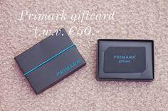 Doe ook mee en WIN een Primark Giftcard t.w.v. 50,- euro