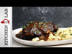 Αγριογούρουνο με σάλτσα δαμάσκηνο Επ.21 | Kitchen Lab TV | Άκης Πετρετζίκης - YouTube