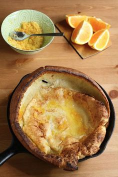 Hummingbird High: Dutch Baby Pancakes with Orange Sugar