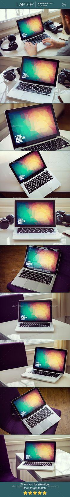 Laptop Screen Mockup v2