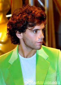 Gorgeous Mika In Green