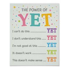 Growth Mindset Activities, Growth Mindset Posters, School Posters, Classroom Posters, Classroom Decor, Teacher Posters, Classroom Quotes, Classroom Design, Math Classroom