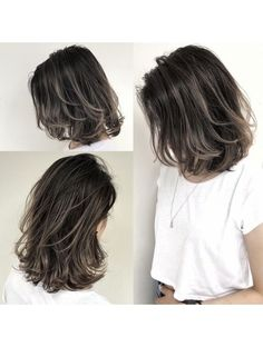 Ideas Hair Color Ideas For Brunettes Short Medium Haircuts For 2019 Hair Streaks, Hair Highlights, Color Streaks, Brown Hair Balayage, Hair Color Balayage, Medium Hair Styles, Curly Hair Styles, Hair Color Ideas For Brunettes Short, Gorgeous Hair Color