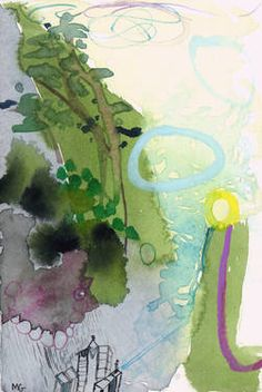 """Saatchi Art Artist Molly Gunther; Painting, """"when I go abroad"""" #art"""