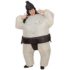 2018 LOLANTA Unisex Adults Sumo Inflatable Costume Halloween Wrestler Blow up Fancy Dress and more Inflatable Halloween Costumes, Inflatables for Cool Halloween Costumes, Halloween Cosplay, Halloween Outfits, Fancy Dress Up, Fancy Dress Outfits, Cosplay Dress, Costume Dress, Wrestling Costumes, Happy Halloween Pictures