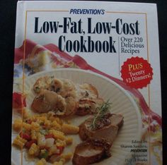 Prevention's Low-Fat, Low-Cost Cookbook 1997 HC (10714-1230) cookbooks