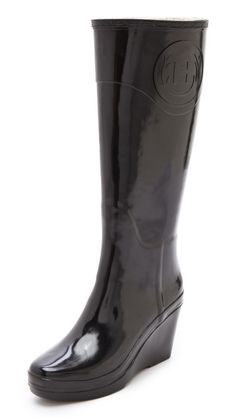 Hunter Boots Champery Wedge Boots - Want these!!