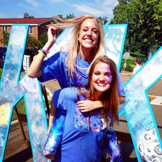 Ole Miss Kappa Kappa Gamma is Out of this World! Bid Day 2014