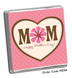 These beautiful and unique personalised chocolate favours are the perfect gift to say a big thank you to your mum on mothers day! You will receive the favours completely assembled and ready to eat.