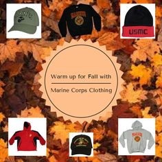 Warm up for #fall with #MarineCorp clothing! Visit our webpage today!