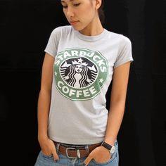 ♥ Starbucks Coffee Vintage T Shirt