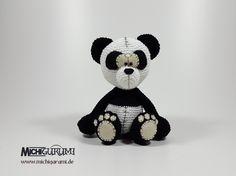 Häkelanleitung: Panda Anouk