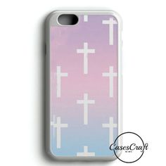 Ombre Pastel Crosses iPhone 6/6S Case | casescraft