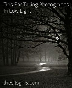 Low Light Photography Tips Great tips for shooting pictures in dark places. Landscape Photography Tips, Photography Basics, Dark Photography, Summer Photography, Photography Lessons, Photography Camera, Photoshop Photography, Photography Projects, Night Photography