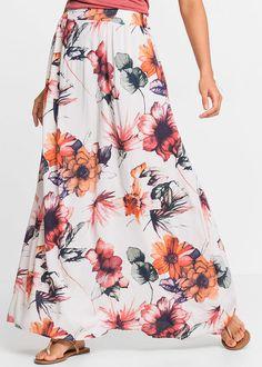 Un item de vară practic şi feminin, cu print floral minunat, realizat din material cu cădere lină. Rock, Elegant, Floral, Skirts, Style, Fashion, Jackets, Clothing, Sandals