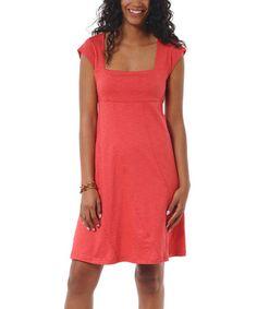 Another great find on #zulily! Watermelon Neko Dress #zulilyfinds