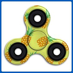 Xianjingshui Yellow Pineapple Finger Spinner Hand Spinner Funny Fidget Toy For Adults And Kids Metal Bearing Time Killer Reduce Stress Relieve ADHD - Fidget spinner (*Amazon Partner-Link)