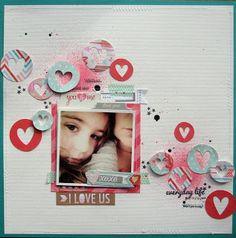 I Love Us - Scrapbook.com