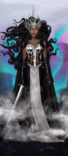 Black Barbie, Covet Fashion, Fashion Sketches, Deities, Warriors, Pirates, Creatures, Wonder Woman, Fantasy