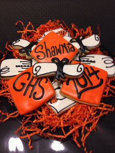 Graduation Cookies For Shawnia 2014