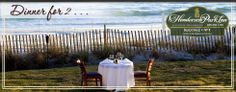BEACH WALK Cafe at Henderson Park Inn is the perfect place for your next romantic beach vacation. Have a nice dinner on the beach with just the two of you!