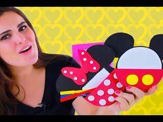 Lembrancinha da Mickey e Minnie - Porta Recado - YouTube