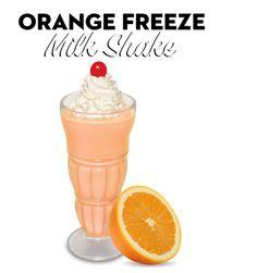 Steak 'n' Shake Orange Freeze